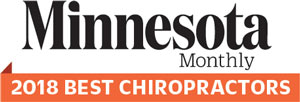 Minnesota Monthly 2018 Top Rated Chiropractor
